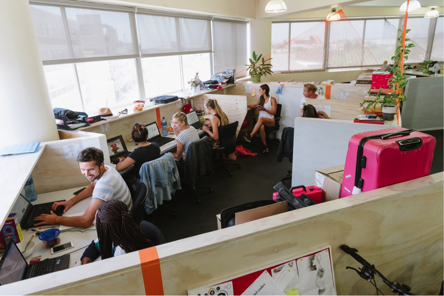 Trends of co-working space in Africa