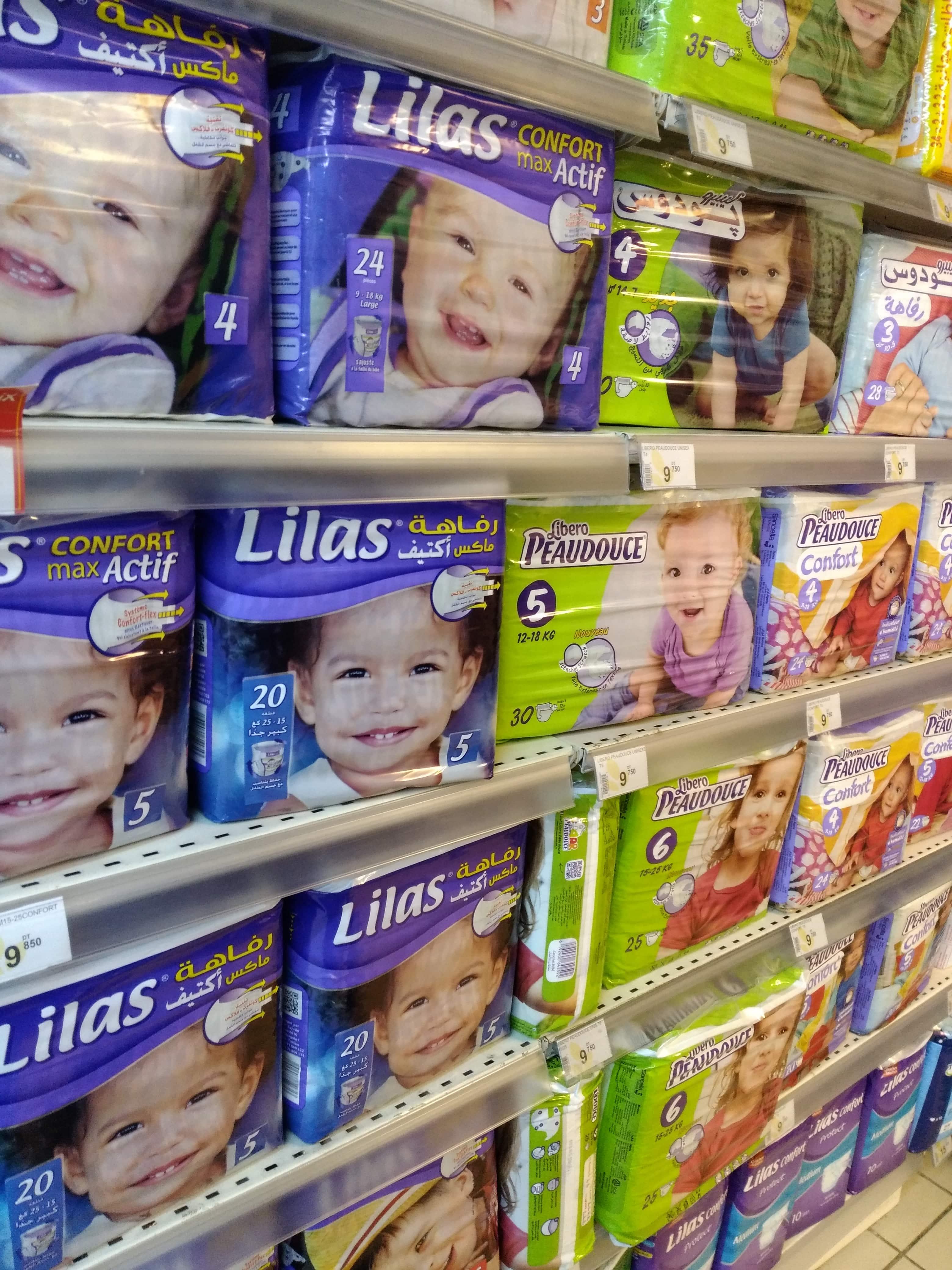 実績例④ アフリカ主要消費国における、幼児用高級紙おむつ市場の開拓